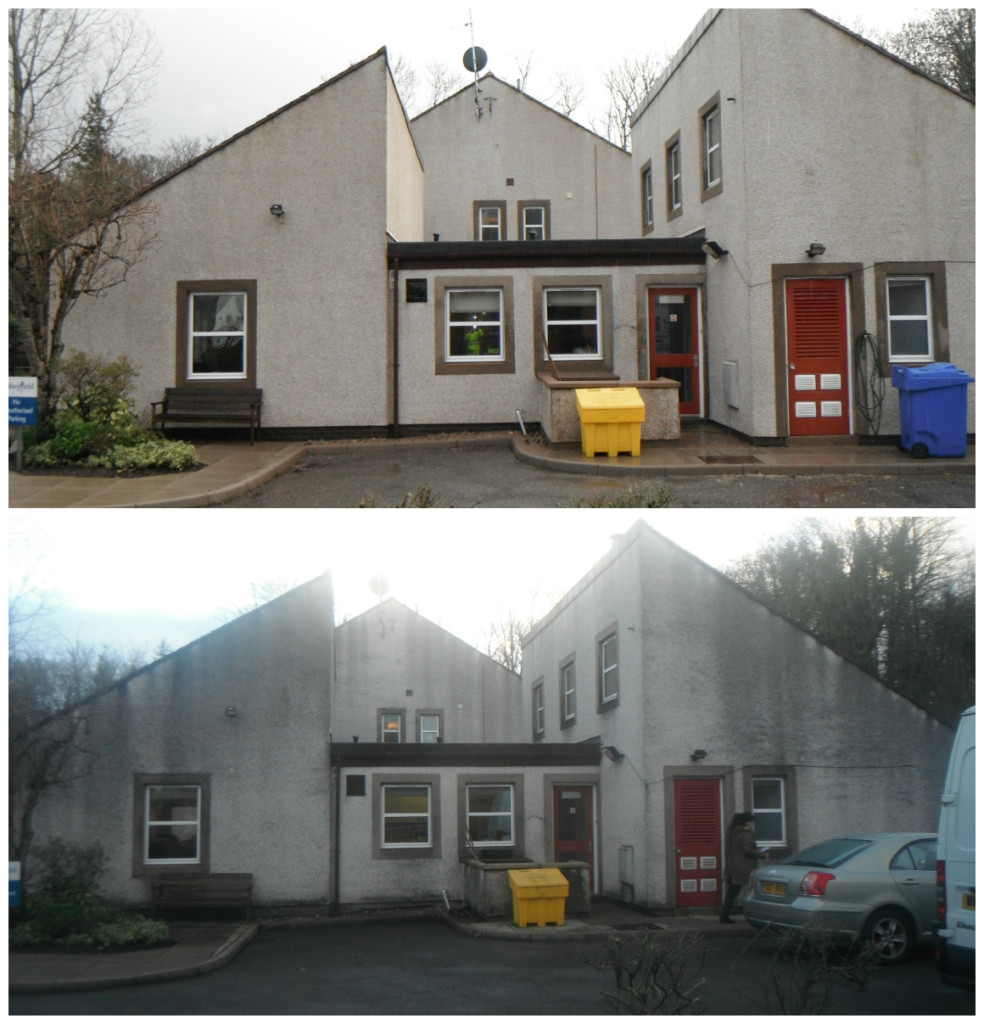 images of Render cleaning in the lake district abbeyfield house image www.cleaning-service.uk.com